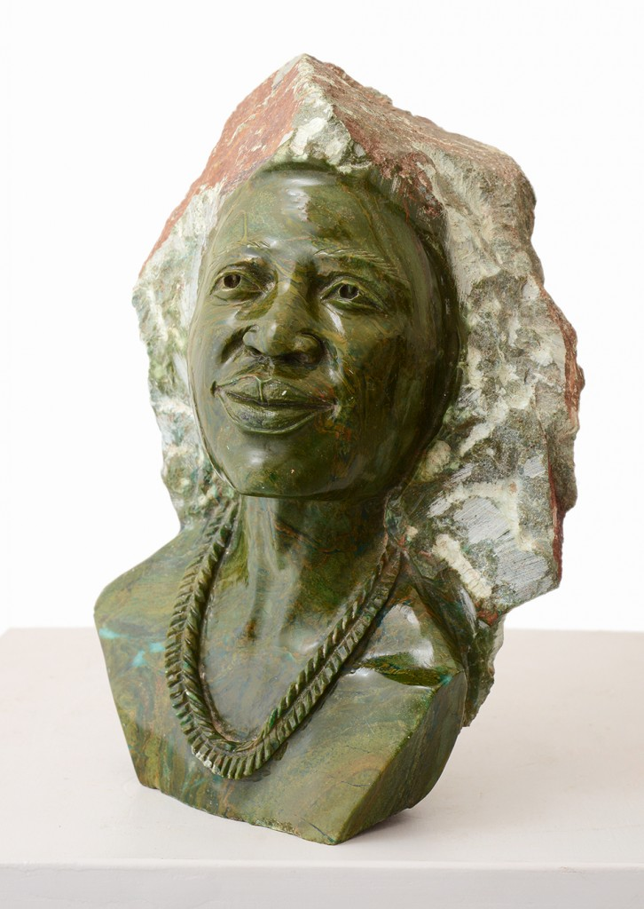 Traditional shona s bust african sculptures